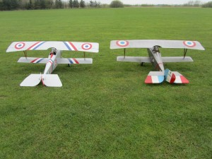 2 Nieuport 17's from the Flyboyz Display Team