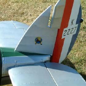 Bulldog tailplane