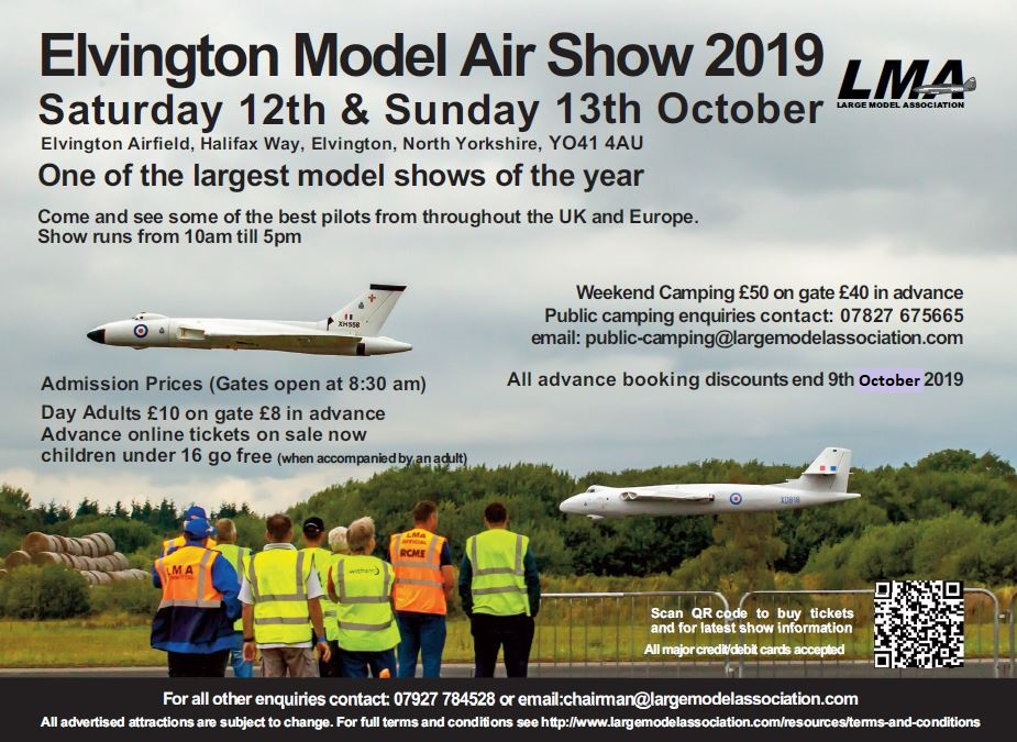 Elvington Model Air Show 2019