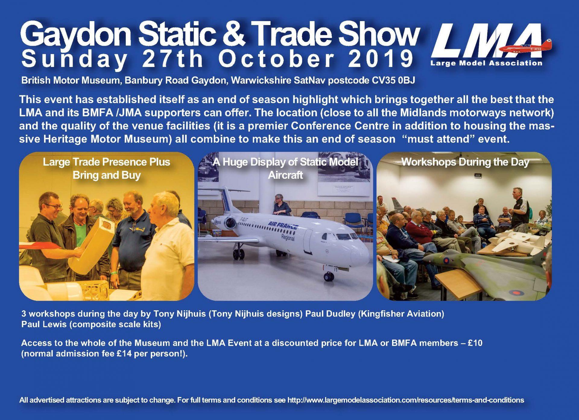 Large Model Association » Blog Archive » » Gaydon Model Show